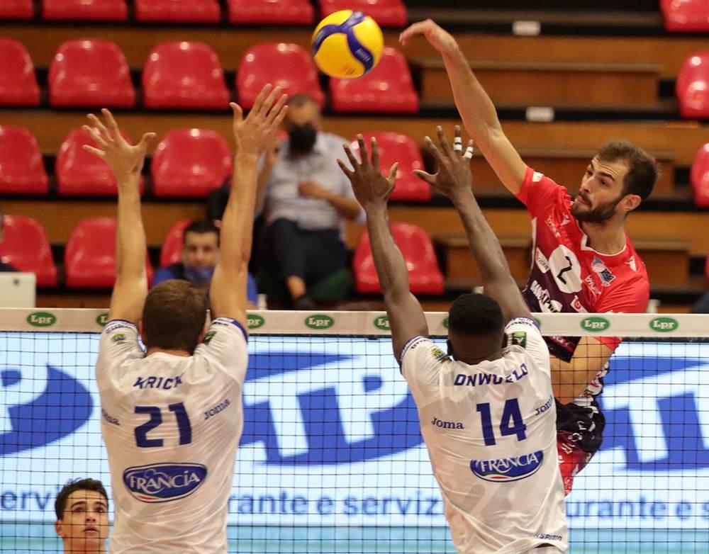 Gas Sales Bluenergy Volley Piacenza a Milano per l'ultima gara del girone d'andata image