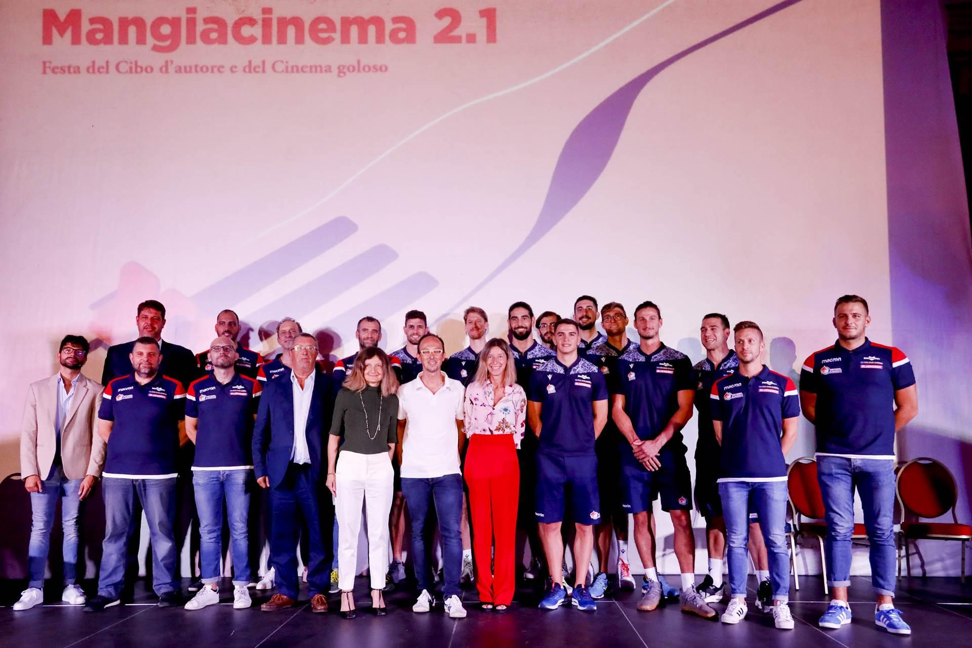 Trasferta Salsese per Gas Sales Bluenergy Volley Piacenza ospite a Mangiacinema 2.1 image