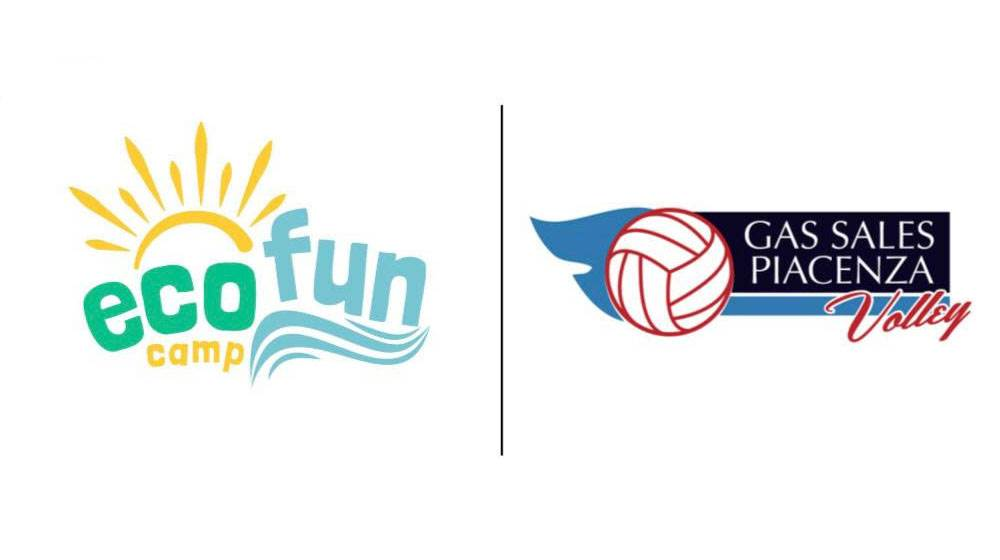 Collaborazione tra Eco Fun Camp e Gas Sales Bluenergy Volley Piacenza per un'estate tra sport, mare e divertimento image