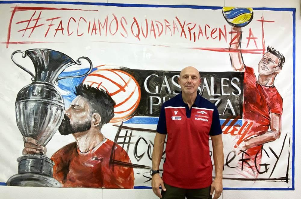 Carlos De Lellis è il nuovo preparatore atletico della Gas Sales Bluenergy Volley Piacenza image