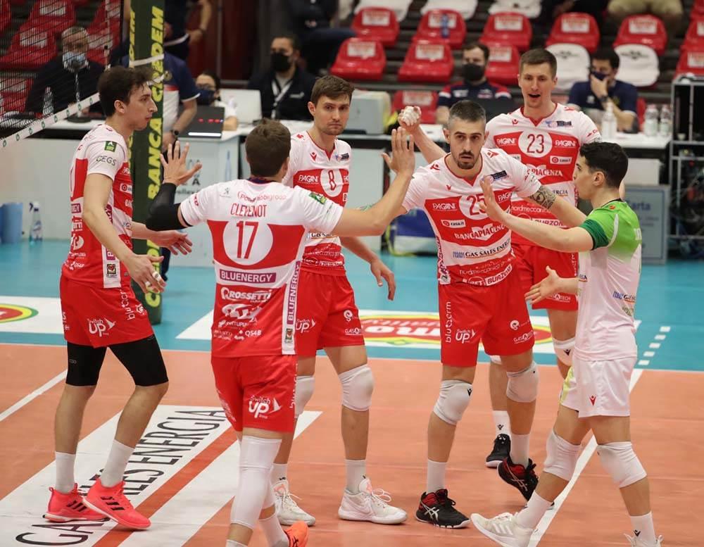 Gas Sales Bluenergy Volley Piacenza vittoria da 3 punti nel derby contro Modena image