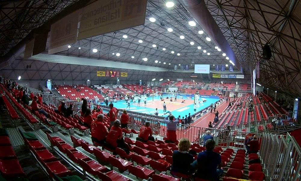 Pubblico al PalaBanca: concessa la deroga per le partite contro Trento e Civitanova image