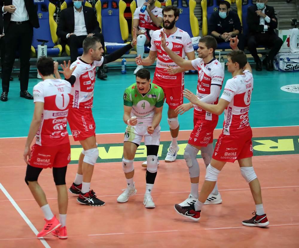 Gas Sales Bluenergy Volley Piacenza corsara a Verona! Altra vittoria per i biancorossi image