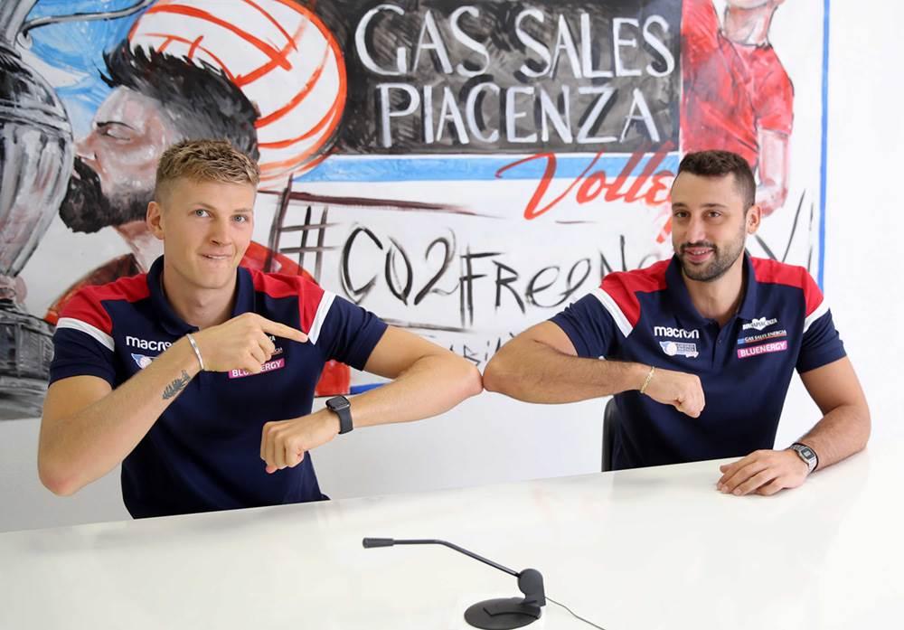 Izzo e Shaw si presentano: Tanti stimoli qui a Piacenza, siamo pronti image