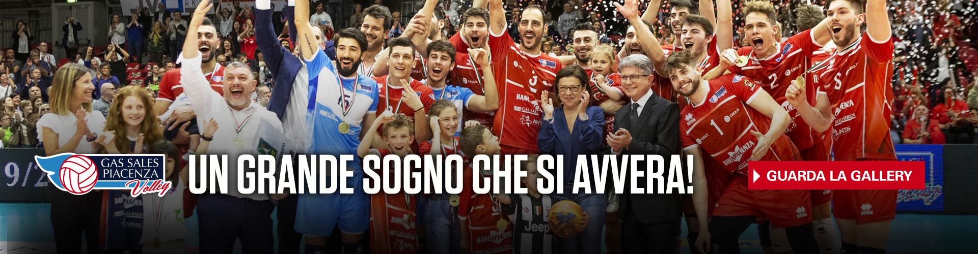 Gas Sales Piacenza Volley - Vittoria Superlega
