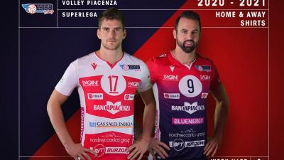 image for Gas Sales Bluenergy Volley Piacenza e Macron presentano le nuove maglie 2020-2021